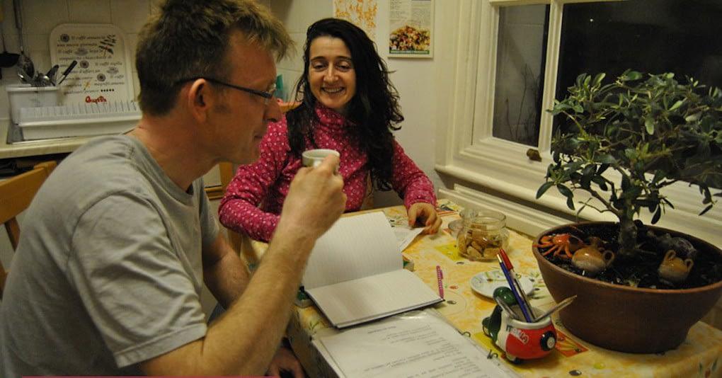 Italian Lesson in Bristol with Marinella
