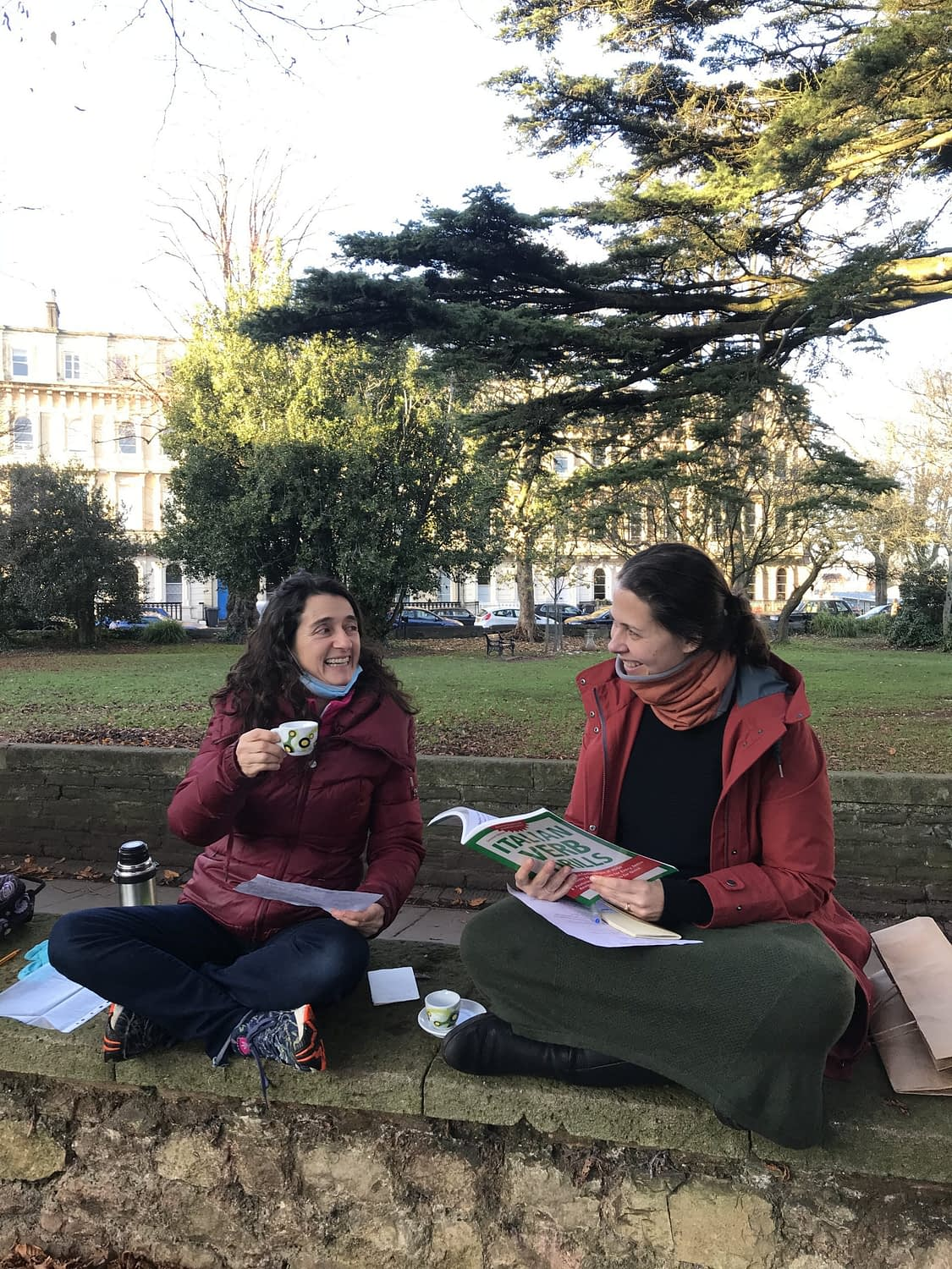 Italian Lessons Outdoors in Bristol